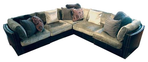 chenille sofa sectional aberdeen chenille leather corner sectional sofa