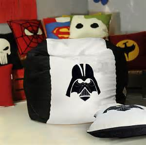 wars bean bag chair cover darth vader stormtrooper