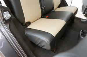 Leather Seat Covers Jeep Wrangler Unlimited Jeep Wrangler 2013 2016 Iggee S Leather Custom Seat Cover