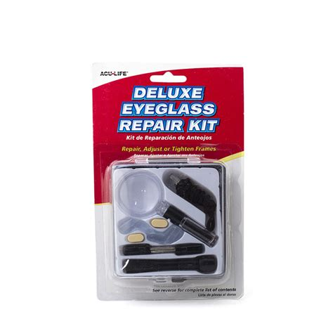 deluxe eyeglass repair kit sports supports mobility