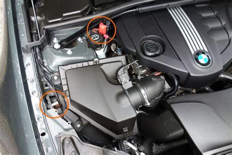 Bmw 1er Schlüssel Batterie Wechseln Anleitung by Howto Wechsel Einer Agm Batterie Am Beispiel Eines Bmw
