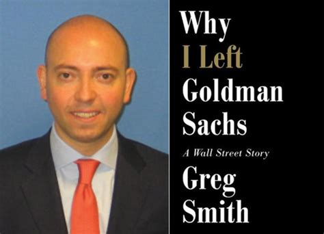 Greg Smith Goldman Sachs Resignation Letter by Goldman Sachs Defector In Tell All Book About The Wall