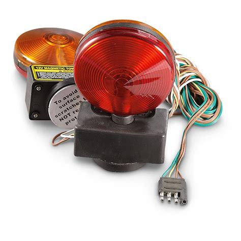 magnetic towing lights wiring diagram led 4 pin wiring