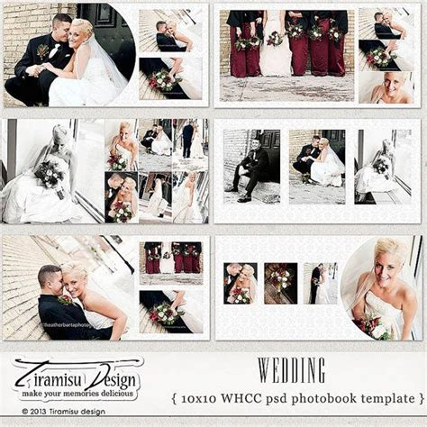 10x10 wedding album templates wedding photobook photoshop