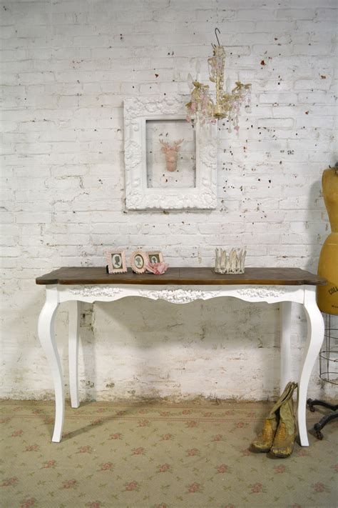 shabby chic farmhouse painted cottage farmhouse shabby chic table