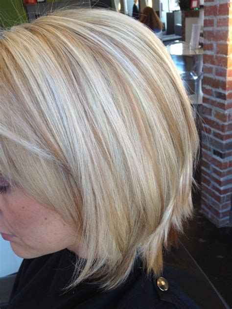 perfectly  lowlights   blonde hair pinterest