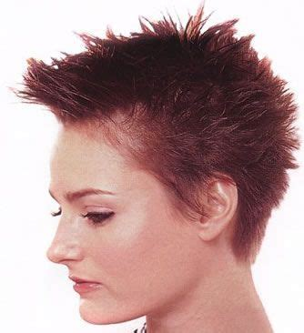 stylish spiked on top only cut for women 58 best images about short hair styles on pinterest