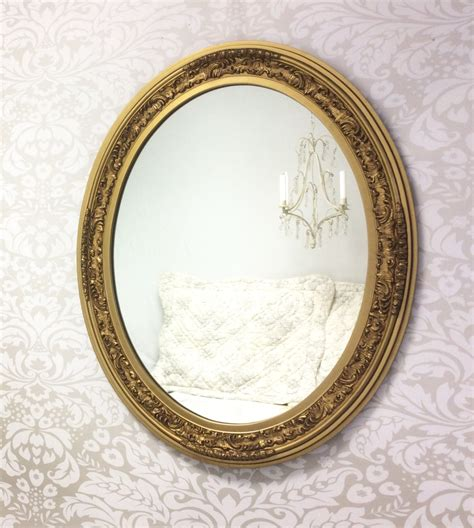 gold decorative mirror decorative vintage mirror for large oval gold mirror