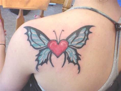 half heart tattoo designs 25 best butterfly tattoos designs for dzinemag