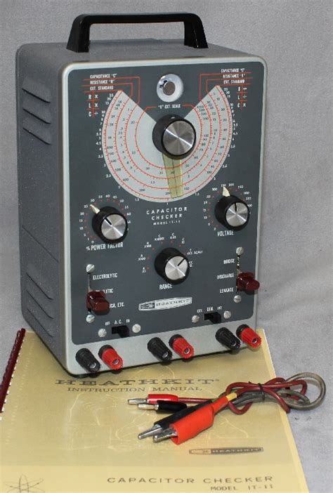 heathkit capacitor checker model it 28 radiolaguy heathkit capacitor checker model it 11
