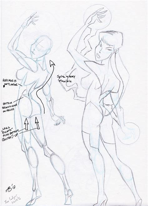 Simplified Anatomy For The Comic Book Artist anthony bachman illustrator 182 sweet sweet backside back groups
