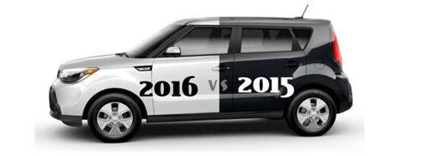 Kia Forte Vs Kia Soul 2016 Kia Soul Vs 2015 Kia Soul
