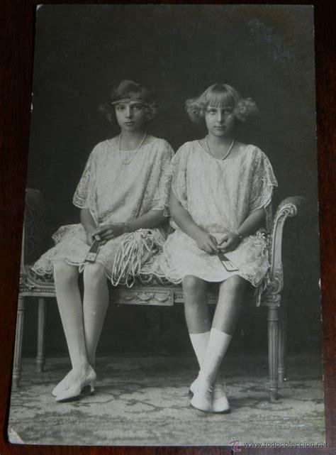 antigua foto postal las hijas de alfonso xiii comprar en todocoleccion 38284451