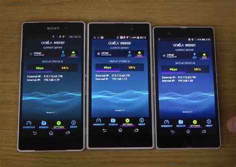 Hp Sony Xperia Z Z1 Z2 sony xperia z2 vs z1 and z in and benchmark