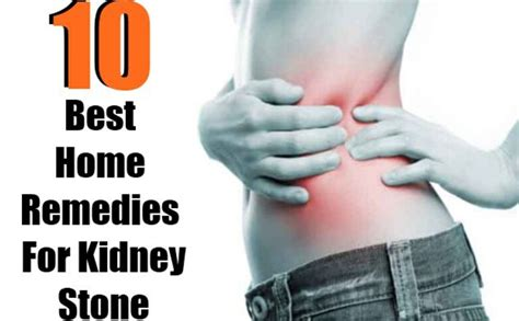 kidney stones treatments