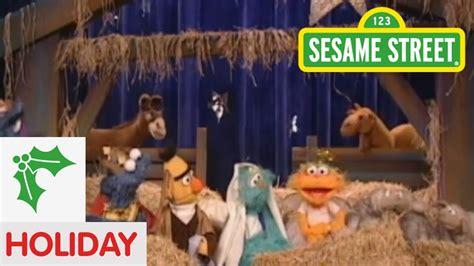 sesame street prairies christmas pageant youtube