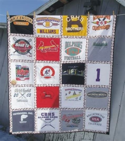 How To Make A Quilt From Tshirts by The World S Catalog Of Ideas