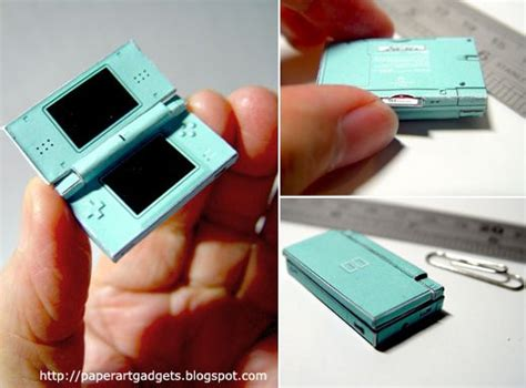 Nintendo Ds Papercraft - the world s smallest nintendo ds lite