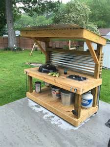 Diy Outdoor Grill Station » Simple Home Design
