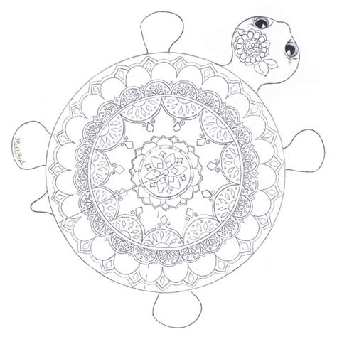 mandala coloring pages turtles colouring in pages hattifant coloring therapy