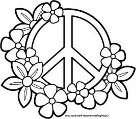peace sign coloring pages coloring pages of peace signs coloring home