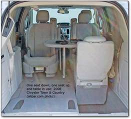 Chrysler Town And Country Table 2008 And 2009 Chrysler Town Country Limited Minivan Car