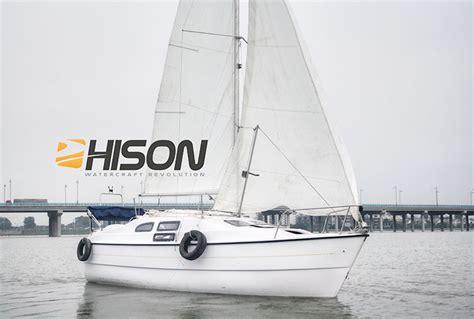 catamaran definition origin china manufacturing hison 26ft personal sailboat buy