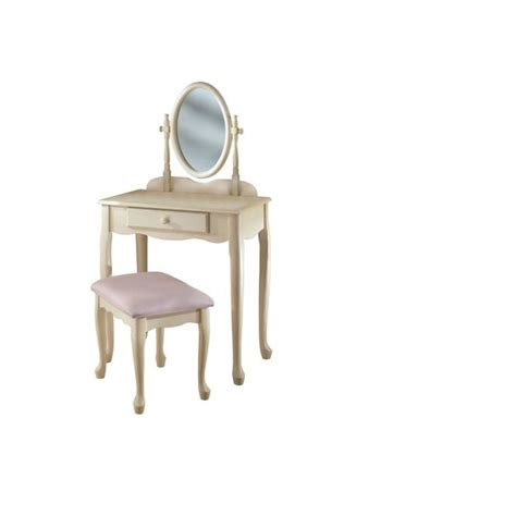 Powell Vanity by Shop Powell White Makeup Vanity At Lowes