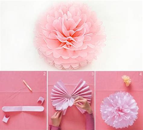 Flower Tissue Paper Craft - craft tissue paper phpearth