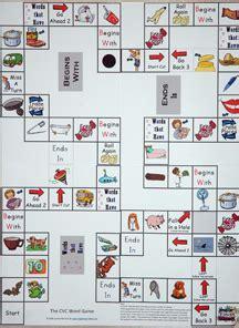 printable cvc board games spelling cvc words online games