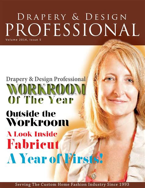 design network magazine drapery and design professional magazine 2014 issue 5 by