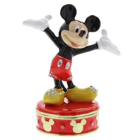 classic disney mickey mouse collectable trinket box