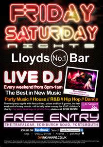 lloyds bar final friday flyer