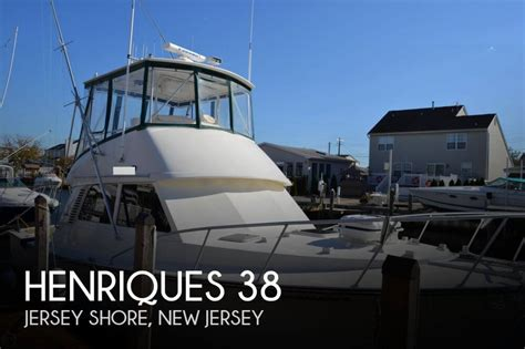 houseboat jersey shore for sale used 1999 henriques 38 in jersey shore new