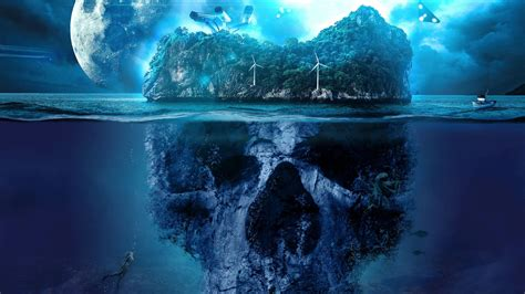 mystery skull island wallpapers hd wallpapers id