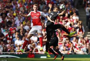 arsenal defenders arsenal 3 4 liverpool philippe coutinho s magical brace