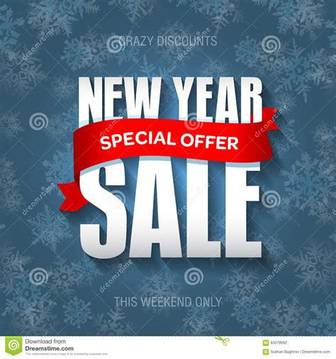new year promotion banner new year sale badge label promo banner template special