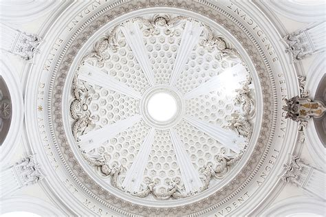 cupola bernini la chiesa di santa assunta ad ariccia la nostra italia
