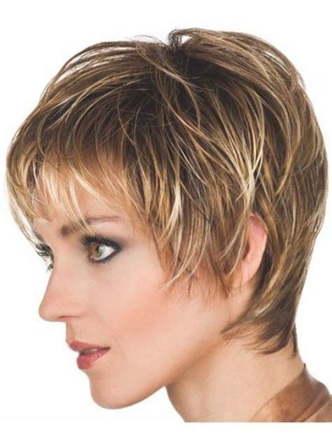 short olf fashion shag haircuts beautiful short hairstyles for older women above 40 and 50