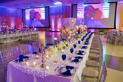 Royal Blue And Ivory Wedding Decorations by Our Royal Blue And White Wedding Blue Wedding Reception