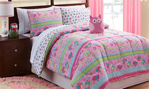 owl comforter set full owl comforter and sheet sets groupon goods