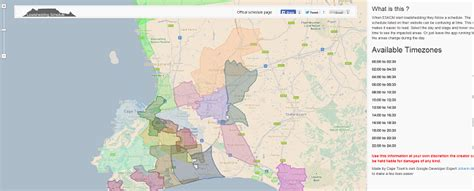 Load Shedding Countries by Load Shedding In Cape Town An Interactive Map Of Where
