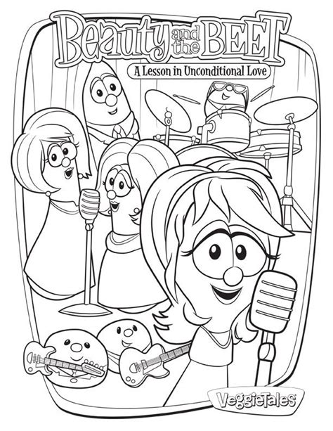veggie tales coloring pages veggietales coloring page coloring home