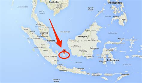 airasia near me an airasia plane is missing and thought to have crashed