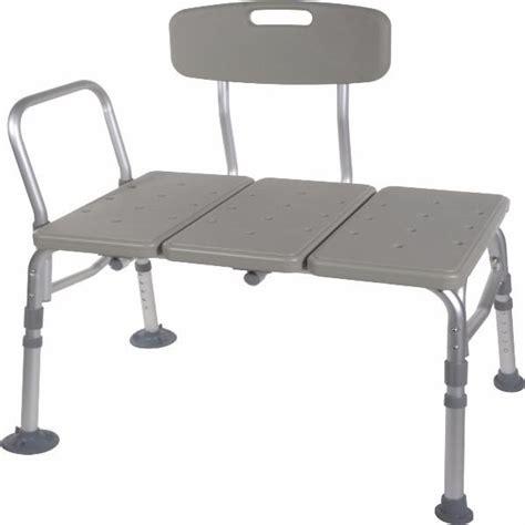 drive medical plastic tub transfer bench  adjustable