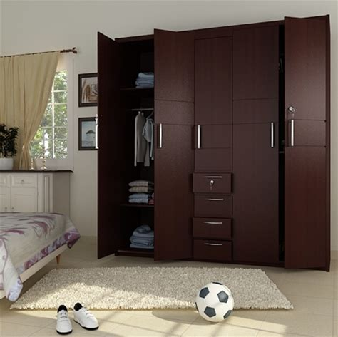 bedroom almirah interior designs 5 doors wooden wardrobe hpd441 fitted wardrobes al