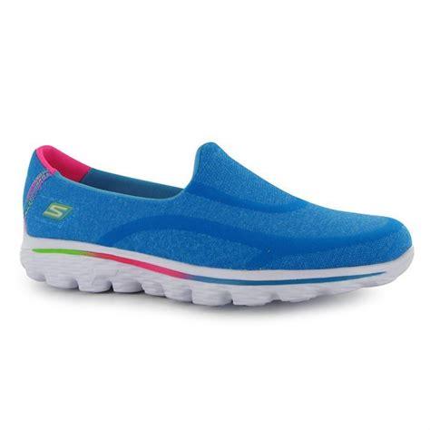 skechers go walk2 shoes slip on childrens