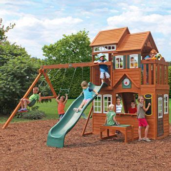 Playground Sets For Backyards Costco by Costco Lodges And Forests On