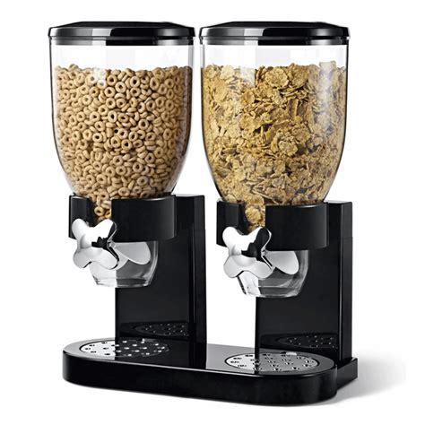 food dispenser cereal dispenser food storage container dispenser machine 2 colours ebay