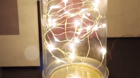 Diy Fairy L Led String Lights Youtube Make String Lights